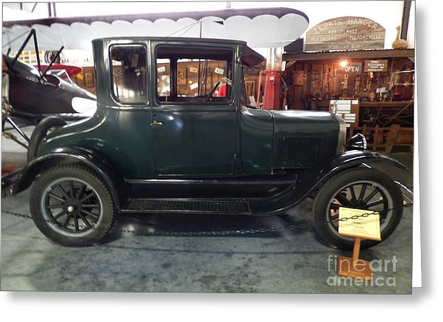 1923 Model T Coupe Greeting Card