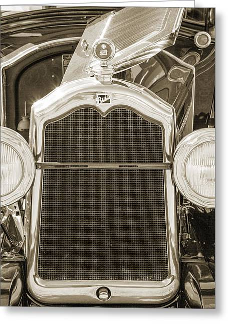 1924 Buick Duchess Antique Vintage Photograph Fine Art Prints 110 Greeting Card