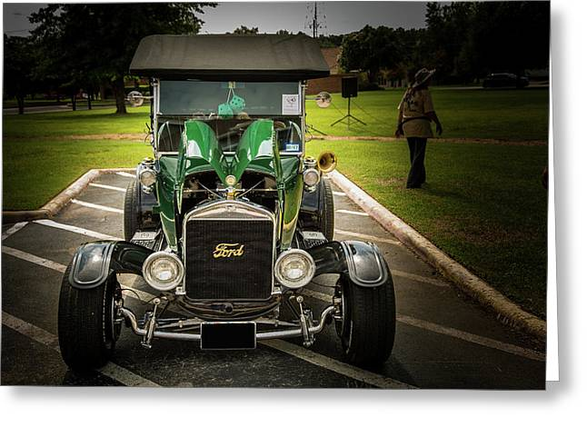 1924 Ford Model T Touring Hot Rod 5509.007 Greeting Card by M K  Miller