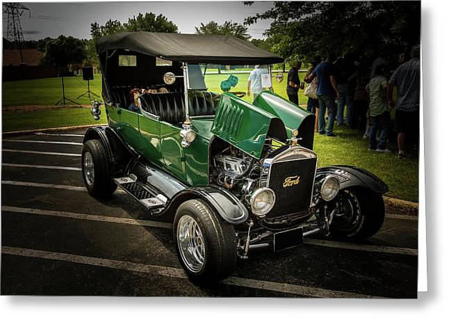 1924 Ford Model T Touring Hot Rod 5509.008 Greeting Card by M K  Miller