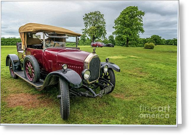 1925 Humber 12/25 Greeting Card by Adrian Evans