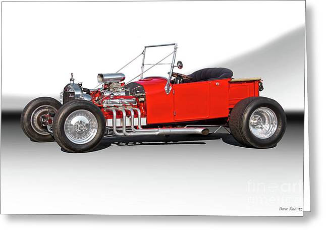 1927 Ford Bucket T Roadster Pickup I Greeting Card