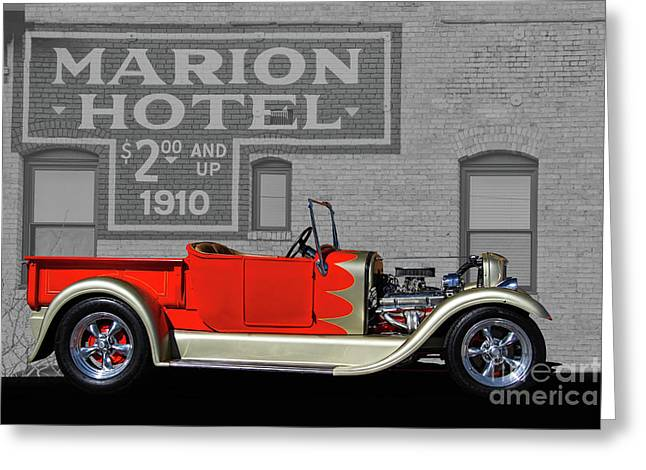 1927 Ford Roadster Truck Greeting Card