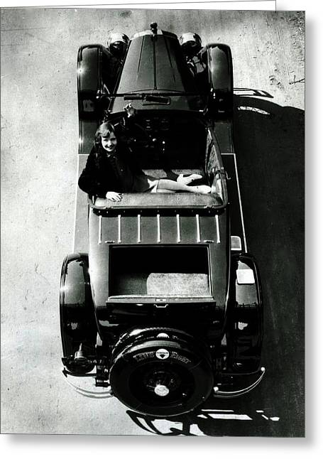 1927 Jordan Motor Car Greeting Card by Peter Gumaer Ogden