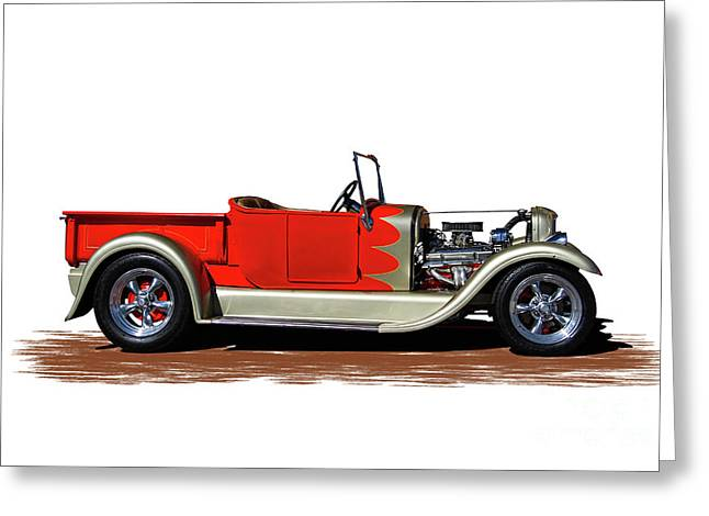 1927 Model A Ford Greeting Card
