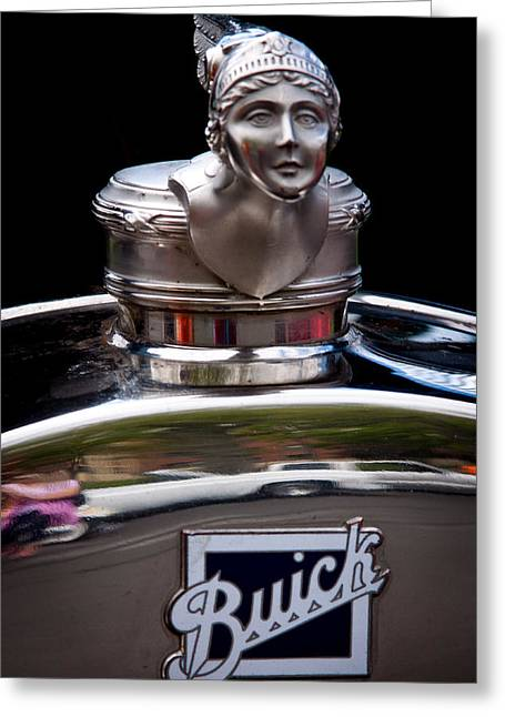 1928 Buick Model 58 Coupe Greeting Card by David Patterson