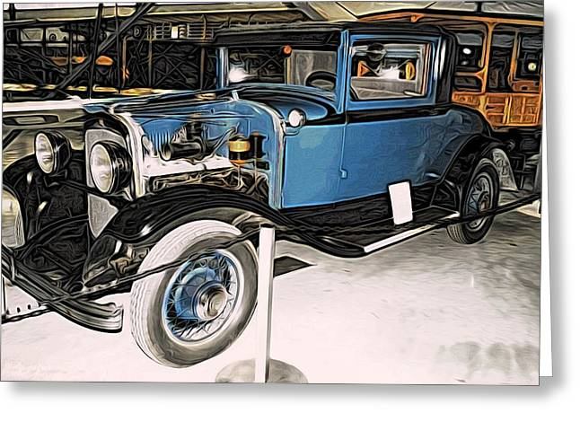 1929 Chrysler Model 65 Coupe Greeting Card by CJ Anderson