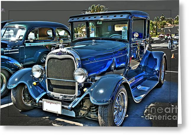 1929 Ford Greeting Card