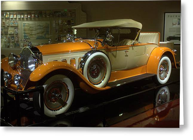 1929 Packard Greeting Card