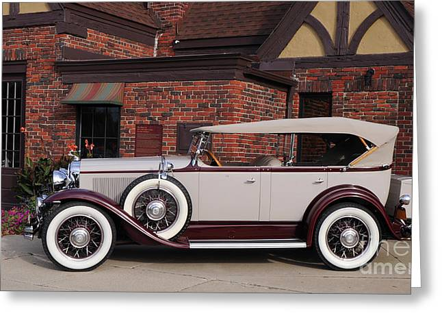 1930 Buick Phaeton Greeting Card