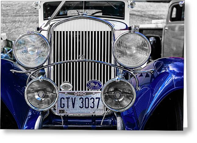 1930 Chryaler 70 Coupe Greeting Card by Jack R Perry