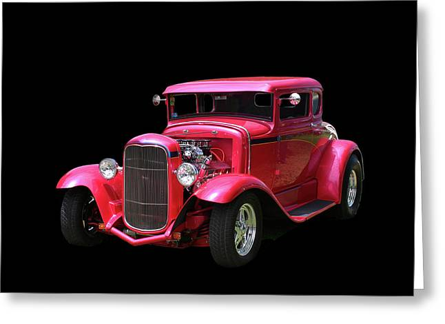 1930 Ford 5 Window Coupe Greeting Card by Jack Pumphrey