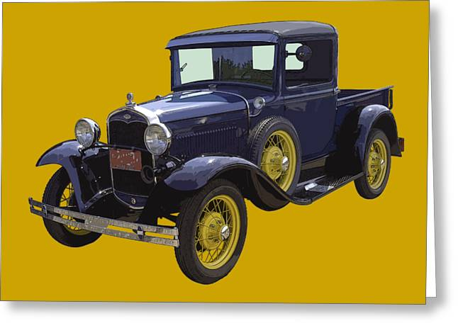 1930 - Model A Ford - Pickup Truck Greeting Card
