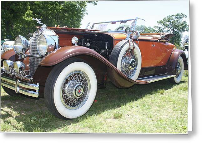 1930 Packard Convertible Roadster Greeting Card by John Telfer