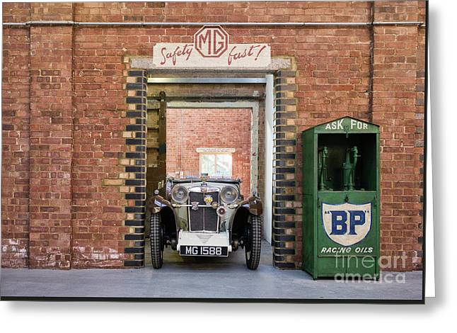 1932 Mg Greeting Card by Tim Gainey