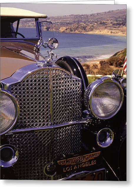 1932 Packard Phaeton Greeting Card