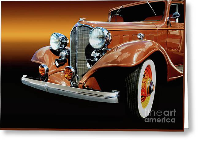 1933 Buick Coupe Greeting Card