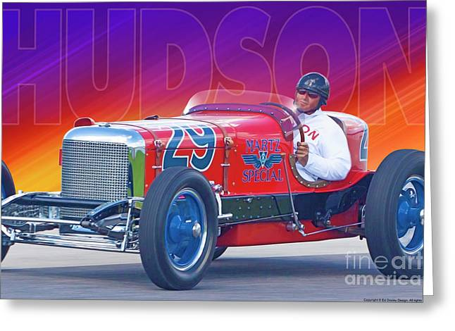 Greeting Card featuring the photograph 1933 Martz Special by Ed Dooley