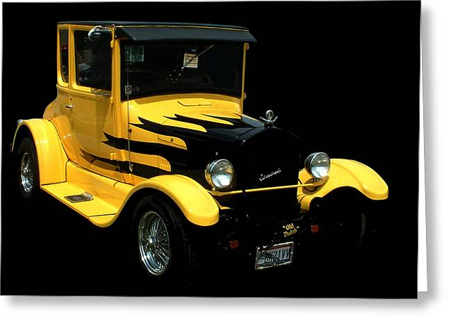 1933 Model T Ford Greeting Card by Kathleen Stephens