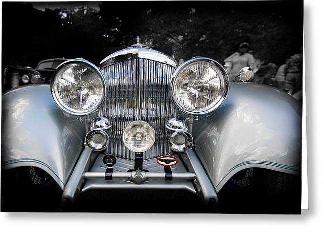 1934 Bentley Drop Head Coupe Greeting Card by Jack R Perry