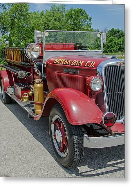 1934 Dodge Pirsch Greeting Card