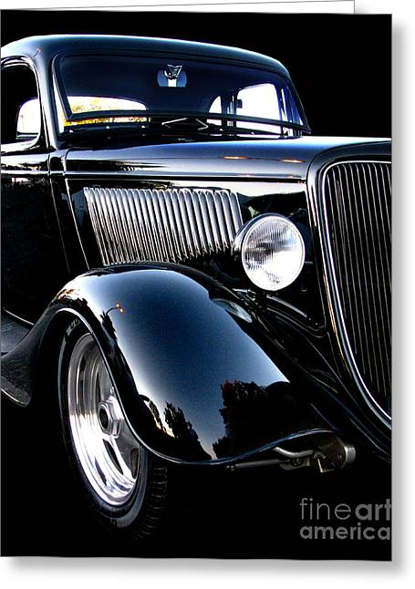 1934 Ford Coupe Greeting Card by Peter Piatt