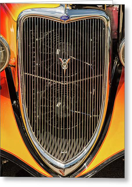 1934 Ford Street Rod Classic Car 5545.17 Greeting Card by M K  Miller