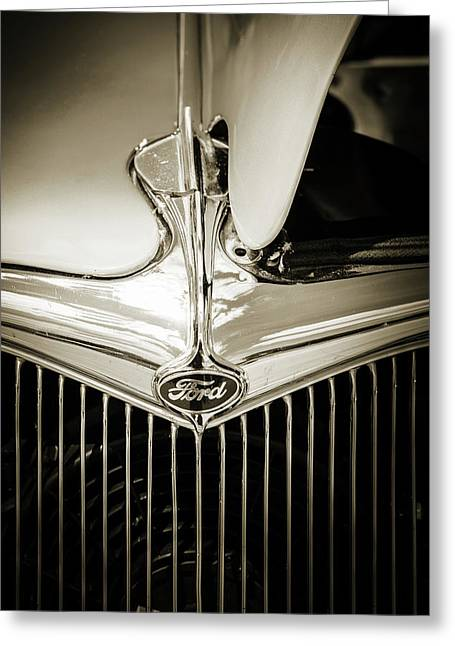 1934 Ford Street Rod Classic Car 5545.70 Greeting Card by M K  Miller