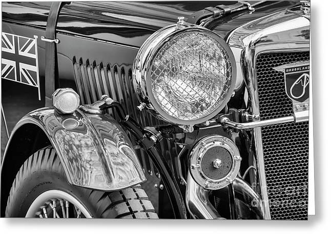 Greeting Card featuring the photograph 1934 Mg Pa Roadster by Dennis Hedberg