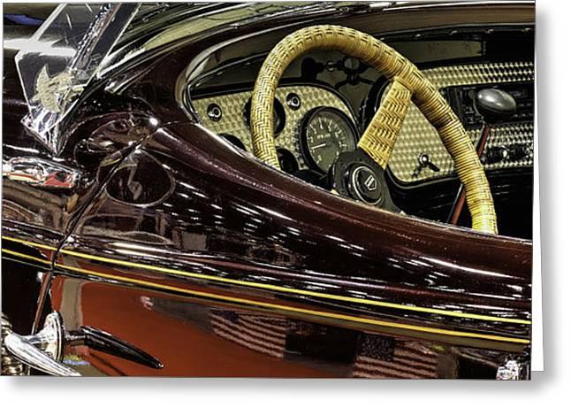 1936 Auburn 866 Speedster V5 Greeting Card