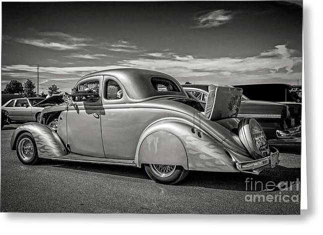 1935 Ford Coupe Greeting Card by Gene Healy