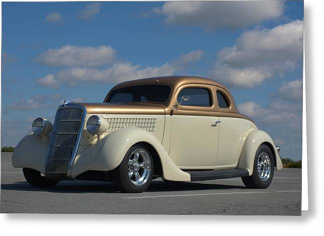 1935 Ford Coupe Hot Rod Greeting Card by Tim McCullough