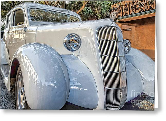 1935 Plymouth Coupe - Series 1 Of 3 Greeting Card