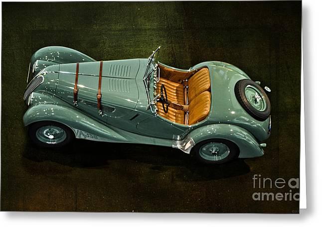 1936 Bmw 328 Roadster Greeting Card