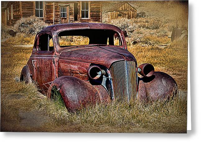 1937 Chevrolet Coupe Greeting Card