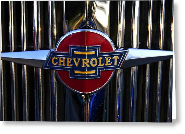 1937 Chevy Greeting Cards - 1937 Chevy Star Greeting Card by David Lee Thompson