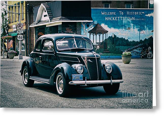 1937 Ford Sedan Greeting Card