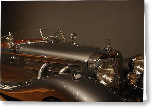 1937 Mercedes-benz 540k Special Roadster Greeting Card