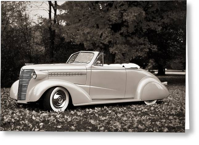 1938 Chevrolet Convertible Greeting Card