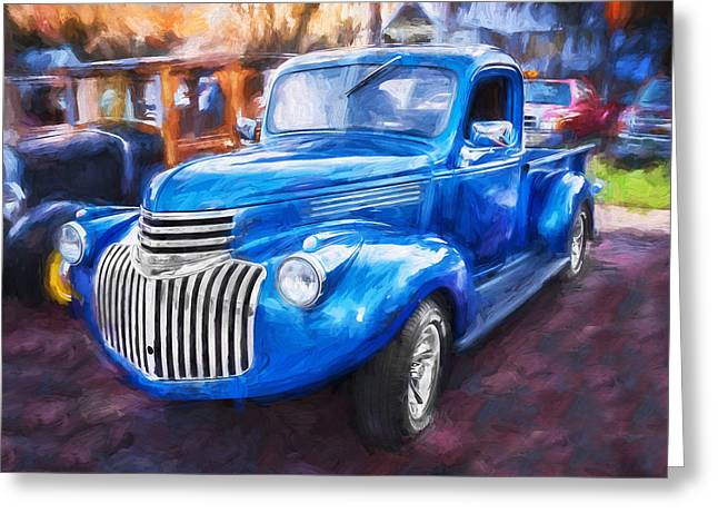 1938 Chevrolet Pick Up Truck Painted  Greeting Card by Rich Franco