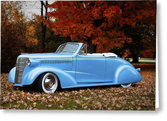 1938 Chevy Greeting Card
