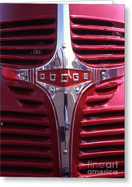 1938 Dodge Pickup Front End Greeting Card