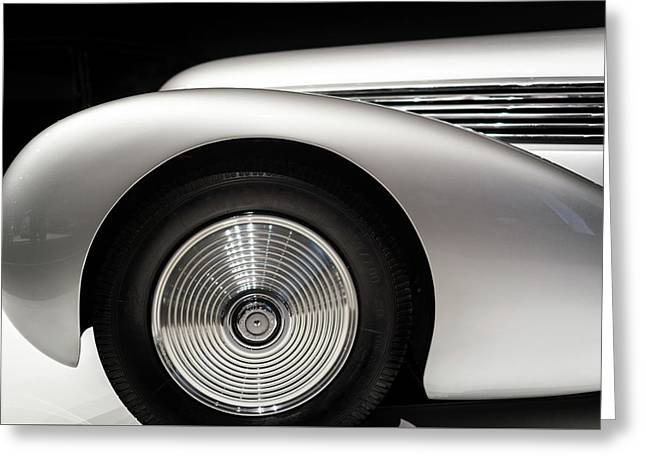 1938 Hispano-suiza H6b Xenia Greeting Card by Wade Brooks