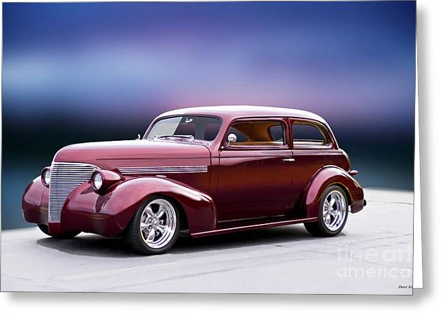 1939 Chevrolet Master Deluxe Sedan I Greeting Card by Dave Koontz