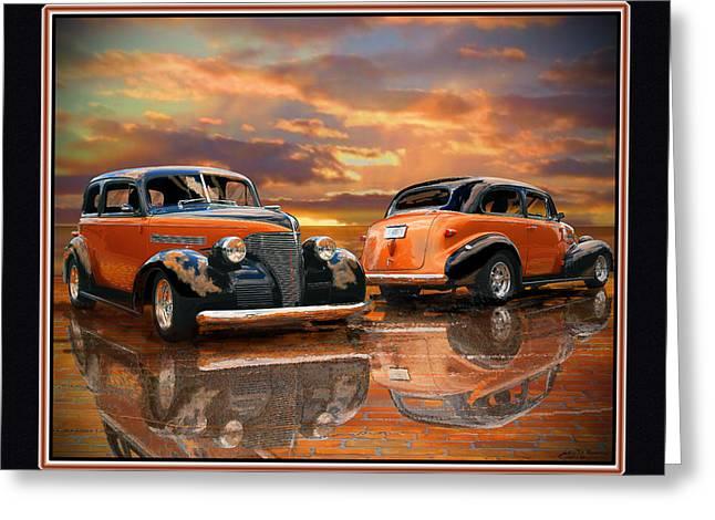 1939 Chevy Greeting Card by John Breen