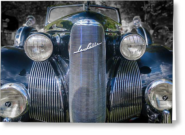 1939  Lasalle Covertable Sedan Greeting Card by Jack R Perry