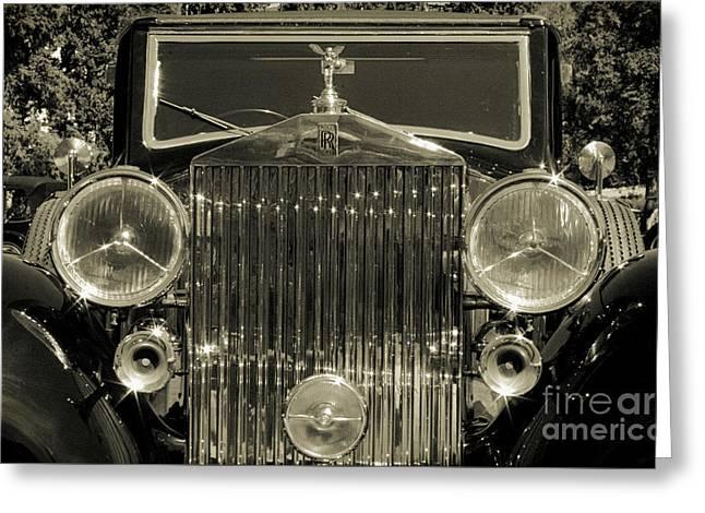 1939 Rolls-royce Wraith Greeting Card by Raquel Daniell