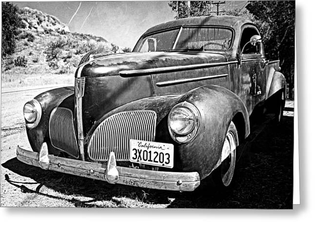 1939 Studebaker Coupe Truck Greeting Card by Glenn McCarthy Art and Photography