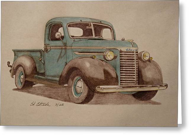 1940 Chevrolet Pickup Truck Greeting Card