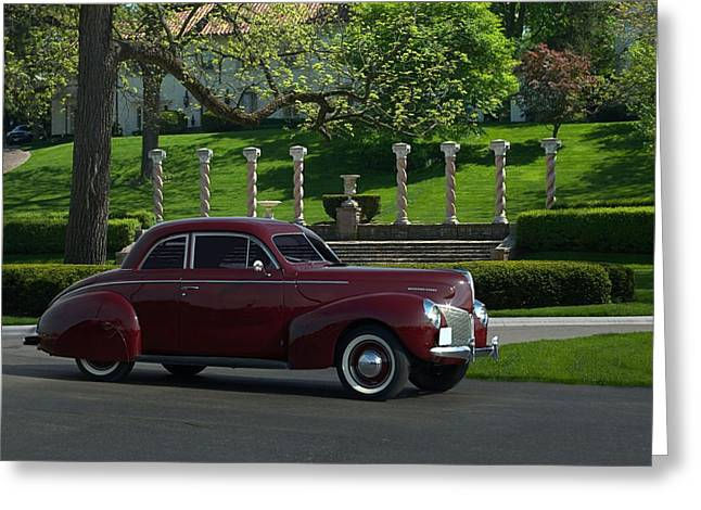 1940 Mercury Coupe Greeting Card by Tim McCullough
